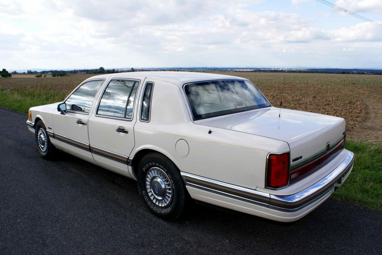 1990 Lincoln Town Car Ii Town Car Heavy